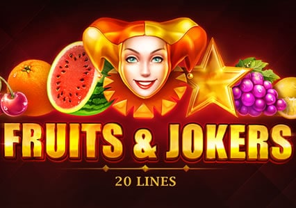 Fruits & Jokers: 20 Lines
